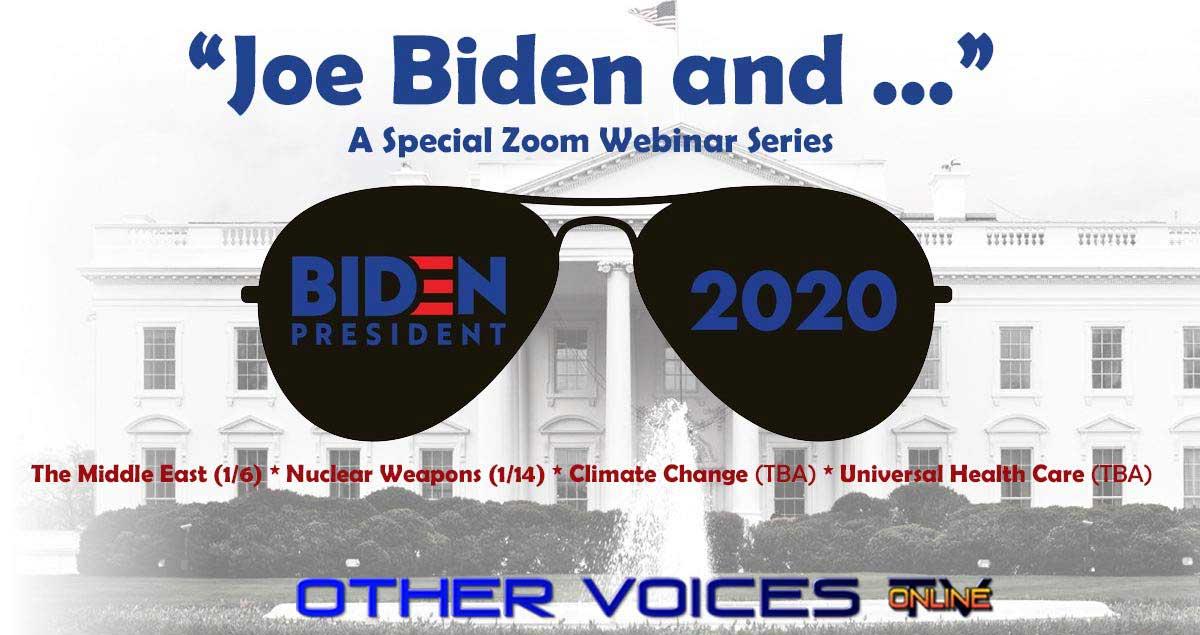 """Joe Biden and …"" – A Special Webinar Series"