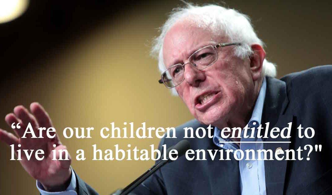 "Bernie Sanders rips Manchin's ""entitlement society"" statement"